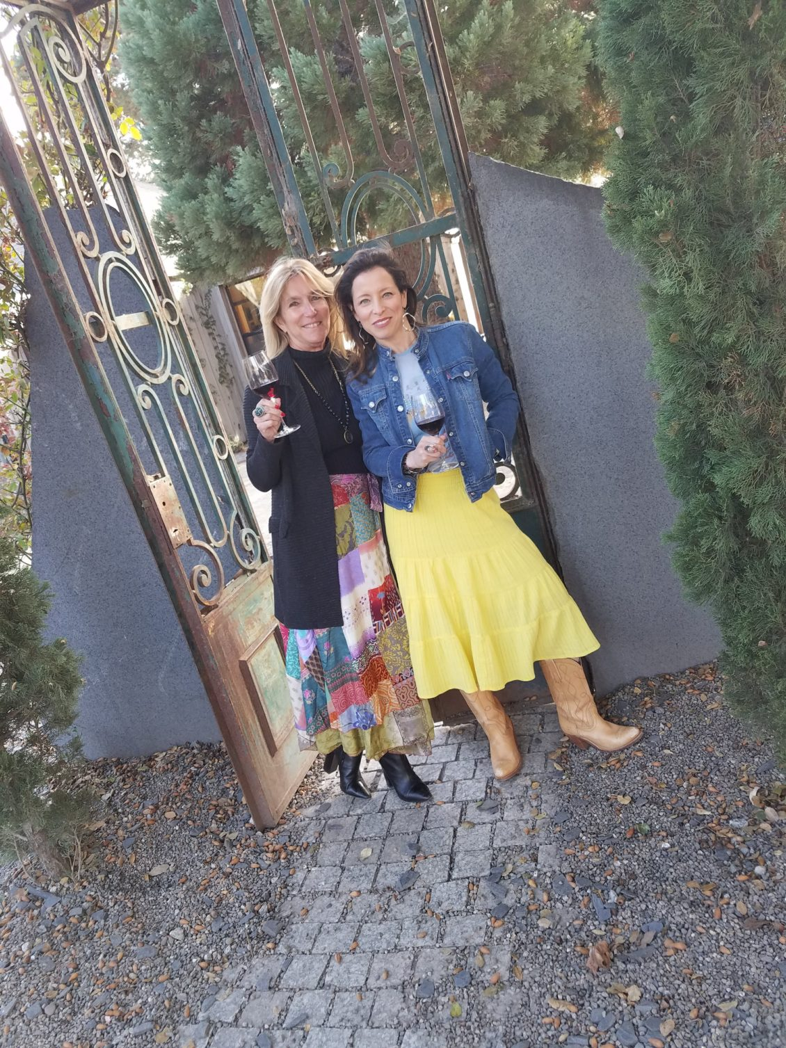 mother-daughter, event village founders